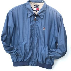 Tommy Hilfiger vintage 90s crest XL zip up jacket